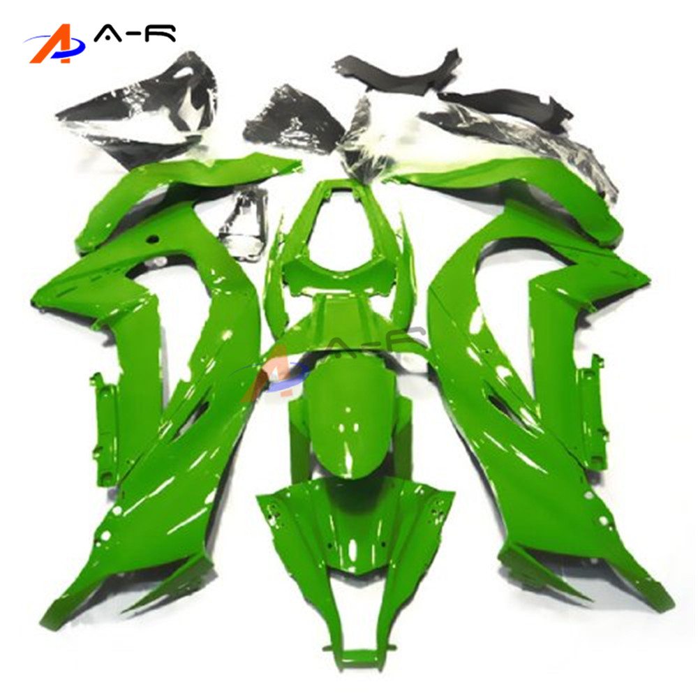 Sportbike Carénage Kit Carrosserie Pour Kawasaki Ninja ZX10R 11-13 ZX 10R ZX-10R 2011 2012 2013 2011-2013 (moulage par Injection)