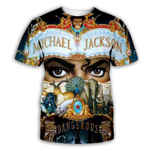 PLstar Cosmos Michael jackson tee t shirt bad moonwalker king of pop men tshirt male tops summer brand tees
