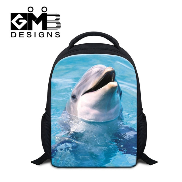 a97c77896e Dispalang Animal Small School Bag Dolphin Cat Cute Kids Backpack Children  Schoolbag Baby Kindergarten Book Bags Escolar Mochilas