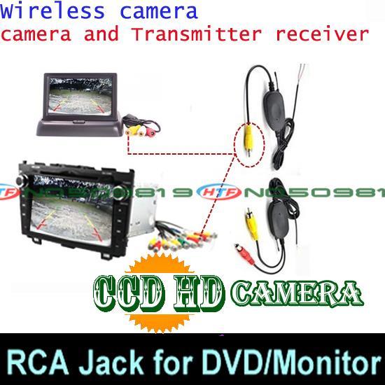 Проводная Беспроводная Автомобильная камера заднего вида для sony ccd NISSAN QASHQAI X-TRAIL SUNNY Geniss для Citroen C4 C5 C-Triomphe парковочная камера - Название цвета: ccd wireless DVD