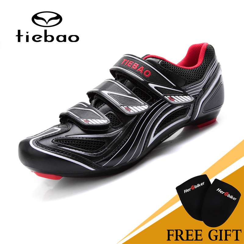 Tiebao Outdoor Sports Professional Bicycle MAGIC TAPE Cycling Sports Road Highway Cycling Shoes Cycling Equipment TB16-B1235