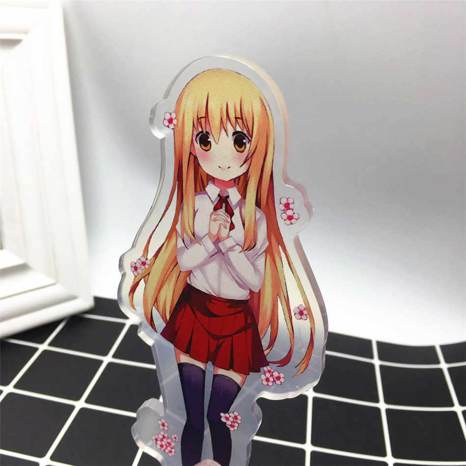 Anime Himouto! Umaru-chan Acrylic Stand Model Toys Himouto! Action Figure Pendant toy 15cm double-side gift