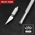 WLXY #9309 Craft Carving Knife with 5pcs SK-2 Blades Carving Pen Model Circuit Board Scrapbooking Tool