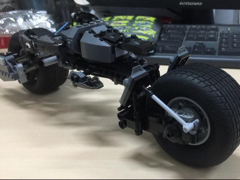 AIBOULLY 7115 super heroes series Batman The BAT-POD Model Building Blocks mini Classic Toys Bringuedos 5004590