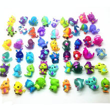 50pcs Cute Mini littlest lol hatch Pets (no Eggs) bear bird Action Figure Incubation Toy Nursery Playset Colleggtibles for Kids(China)