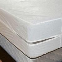 Free Shipping Size 191X152cm Smooth Allerzip Waterproof Mattress Encasement Cover With Zipper Box Spring For Bed Bug