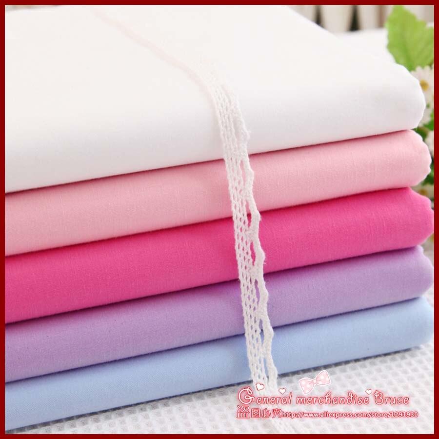 Free shipping 5pcs 166 50cm Solid series baby patchwork baby cloth font b tartan b font