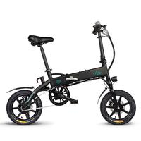 14 Inch Foldable Electric Bicycle Aluminum Alloy 250W Motor 36V Electric Mountain Bike Waterproof Lightweight US Warehouse