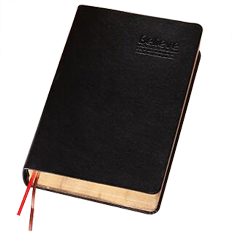 Vintage Thick Paper Notebook Notepad Leather Bible Diary s