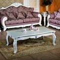 Mesa de café, moda clássica, estilo europeu, madeira maciça mesa de café