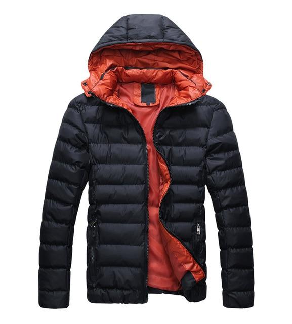 Quente Hoodie Hoodey Parka Casaco Casaco de Inverno Outwear Jaqueta