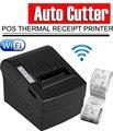ZJ-8220 80 мм 3-дюймовый Термальный чековый принтер usb термальный принтер Серийный/USB/Ethernet беспроводной WIFI POS Термальный чековый принт