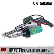 Lesite 3500w HDPE PP plastic welding extrusion gun handheld welding tool