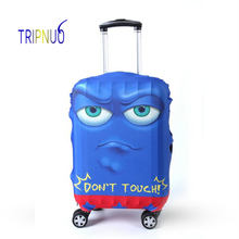 TRIPNUO Blue Eyes Cover for Suitcase Travel Elasticity Luggage Protective Covers Elastic Travel Accessories Trolley Cover