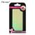 Anjo lírio 2016 Irregular quebrado Espelho de vidro folha de unha Aurora platina papel etiqueta da arte do prego 3D DIY espelho de vidro papel