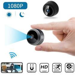 Mini kamera A9 bezprzewodowa kamera Wifi zabezpieczenia IP HD 1080P noktowizor z kartą pamięci 32G R20