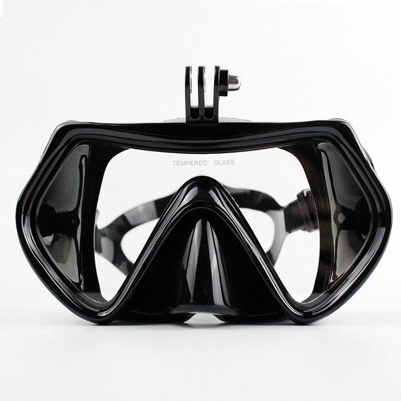 Vertvie Gehärtetem Tauchen Glas Schnorcheln Scuba Maske Erwachsene Silikon Schwimmen Tauchen Brille Tauchen Masken für Kamera