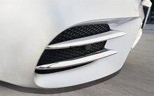 4pcs Car Front Fog Light Cover Trim For Mercedes Benz W213 E Class E200 E300 2017