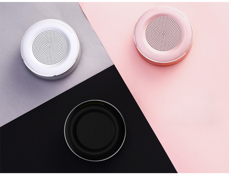 Wireless Bluetooth Speaker Portable Metal Mini Subwoof Sound Box With Mic TF Card For Xiaomi Iphone Mobile Phone Speakers