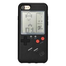 Play Gameboy Tetris чехол для телефона Tpu Ретро настоящая игровая консоль чехол