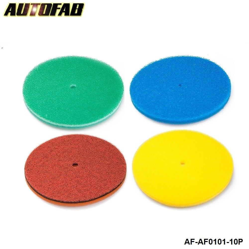 Prix pour AUTOFAB-Filtre À Air Mousse/Filtre À Air éponge Bleu, Vert, Rouge, Jaune Pour Honda Accord 98-02 AF-AF0101-10P