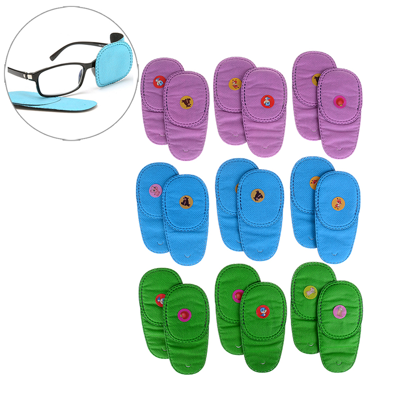 3Pair Massager Amblyopia Eye Care Mask Myopia Rehabilitation Training Orthoptic Tool