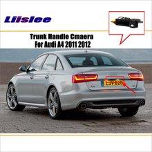 цена на Car Camera For Audi A6L 2011 up / Rear View Camera / HD CCD RCA NTST PAL / Trunk Handle OEM