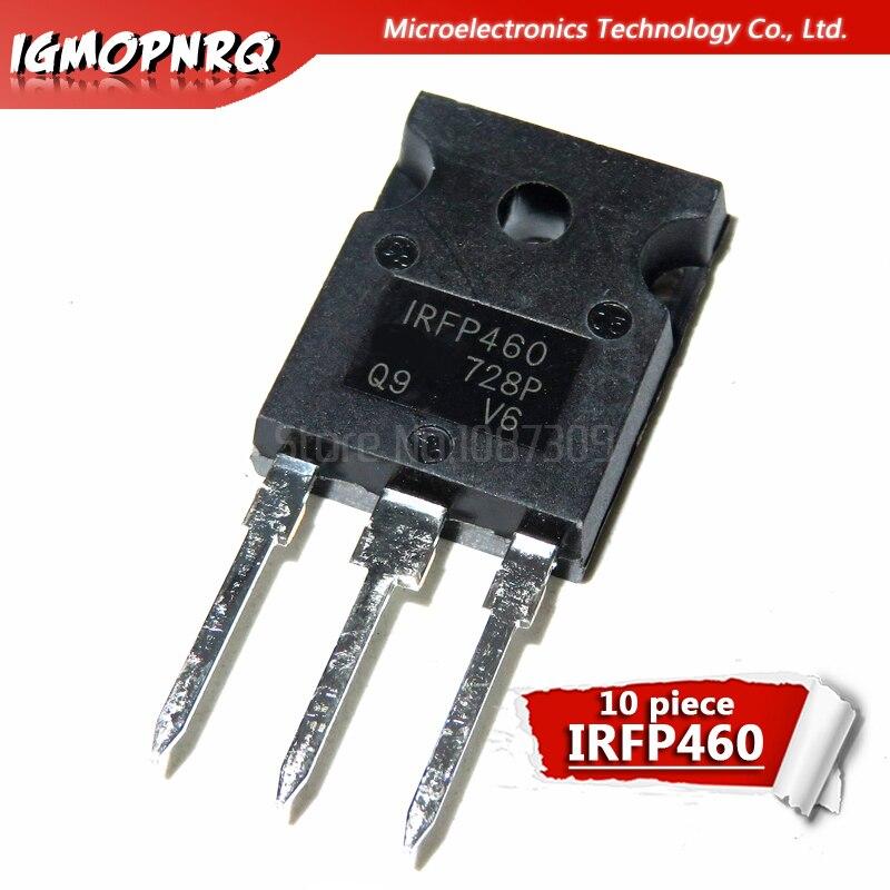 10pcs IRFP460 P460 500V 20A 0.27 Euro N-channel FET TO-247 Original Authentic