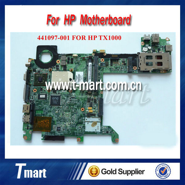 ФОТО 100% working for hp TX1000 TX2000 TX2 441097-001 laptop motherboard amd Integrated Fully tested