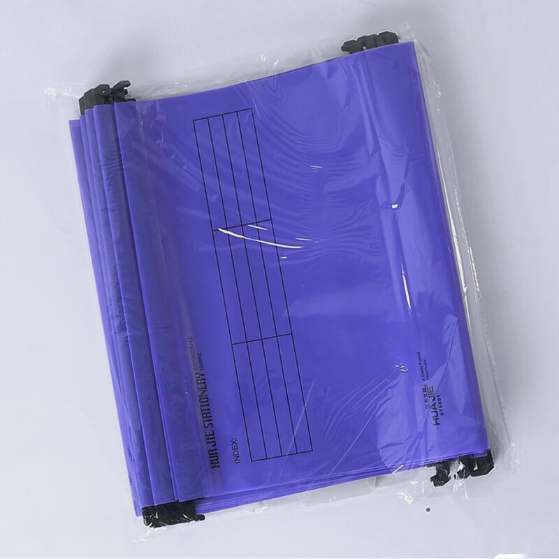 В виде бабочек, новинка, 12 шт./упак. A4 Экстра Ёмкость усиленный подвесных папок быстро подвесной зажим категория теги быстро найти для Бизнес для офиса - Цвет: Фиолетовый