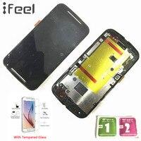IFEEL 20 sztuk/partia Wyświetlacz LCD Ekran Dotykowy Digitizer Dla Motorola Moto 2nd Gen G2 XT1063 XT1068 XT1069 XT1064 Naprawa Zgromadzenie
