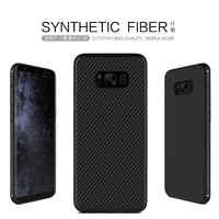 Nillkin Synthetic Fiber Cell Phone Case For Samsung Galaxy S8 5 8 Hard Carbon Fiber PP