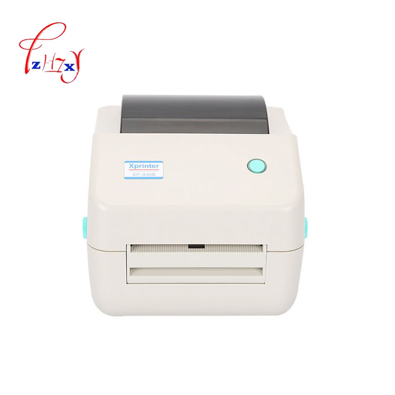 Thermal printer 20mm-108mm USB Barcode Label Printer barcode printer bar code printer Print speed 110mm/s XP-450B 1pc supermarket direct thermal printing label code printer