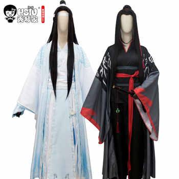 HSIU Wei Wuxian Lan Wangji Mo Xuanyu Cosplay Costume Anime Grandmaster of Demonic Cultivation Mo Dao Zu Shi Halloween Costumes - DISCOUNT ITEM  0% OFF All Category