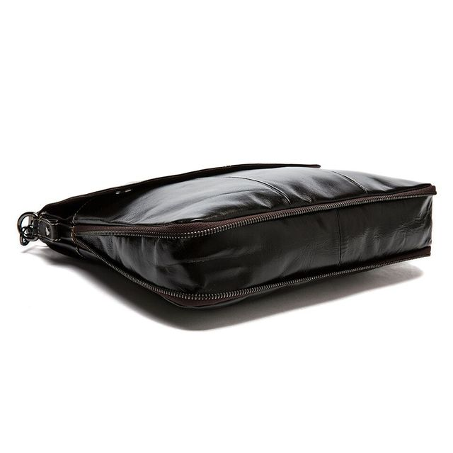 Messenger Bag Men Genuine Leather Men's shoulder bags male Casual Zipper Crossbody Bags for men handbags 3