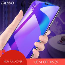 IMIDO for Huawei Mate 20 20X Full Cover Anti Blue Tempered Glass Mate20 Lite Blue-ray Screen Protector Protective Film