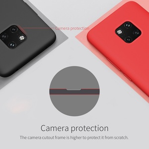 Image 2 - case for huawei mate 20 pro case Nillkin Soft smooth silicone phone protector shell for huawei mate 20 pro case cover 6.39 inch