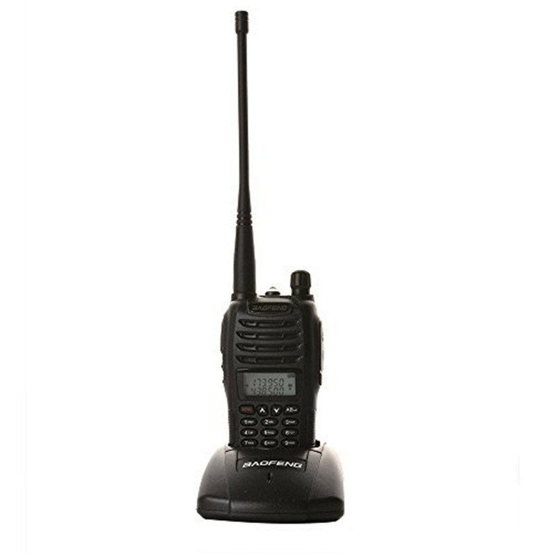 Чорны Baofeng рацыя UV-B6 Dual Band UHF VHF Two Way Радыё 136-174MHz і 400-470 МГц Walkie Talkie Hf Radio Transceiver