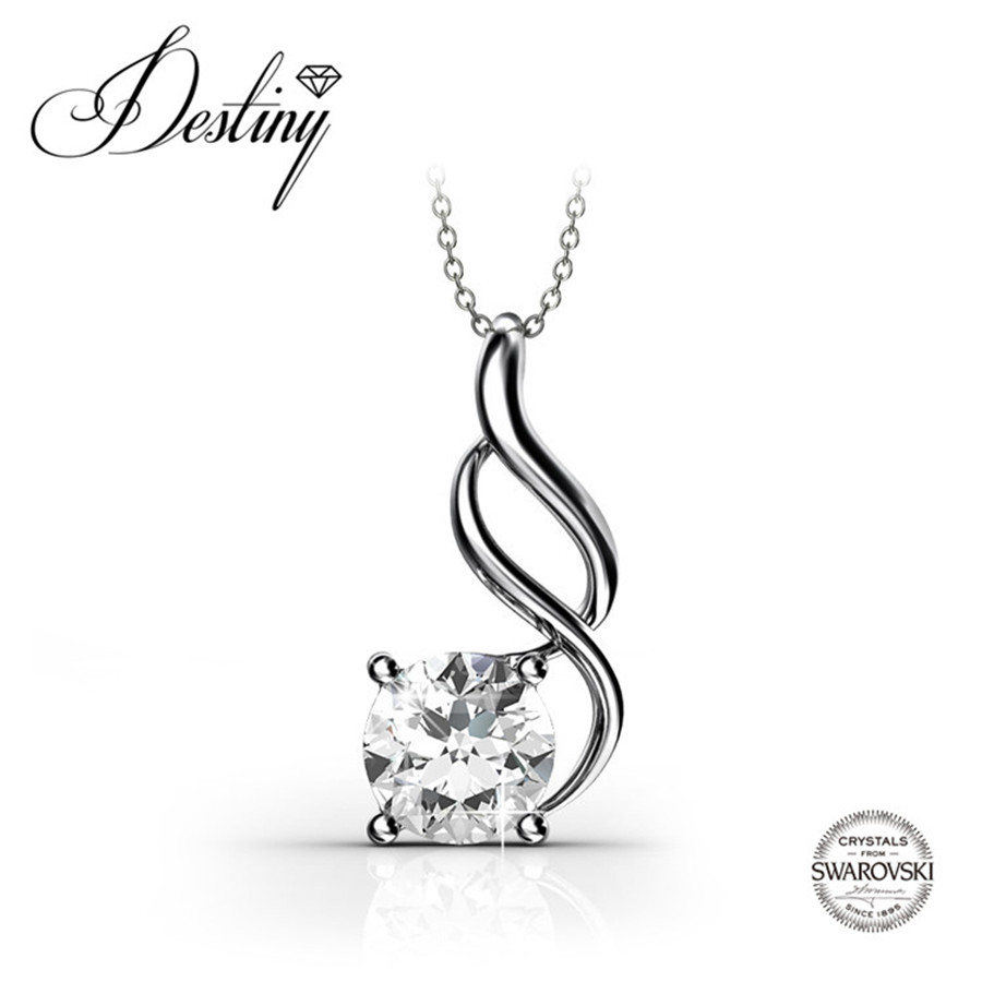 Destiny Jewellery Embellished with crystals from Swarovski necklace sterling silver jewelry pendant collier DP0038