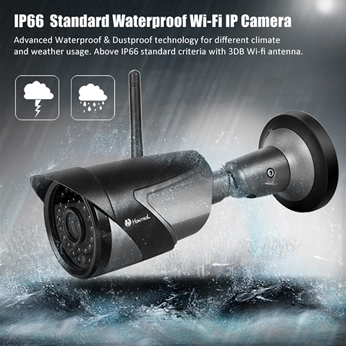 720P WIFI IP Camera Waterproof HD Network 2MP Lens wifi camera day nignt vision In/Outdoor ip camera with free power adapter 720p wifi ip camera waterproof hd network 2mp lens wifi camera day nignt vision in outdoor ip camera with free power adapter