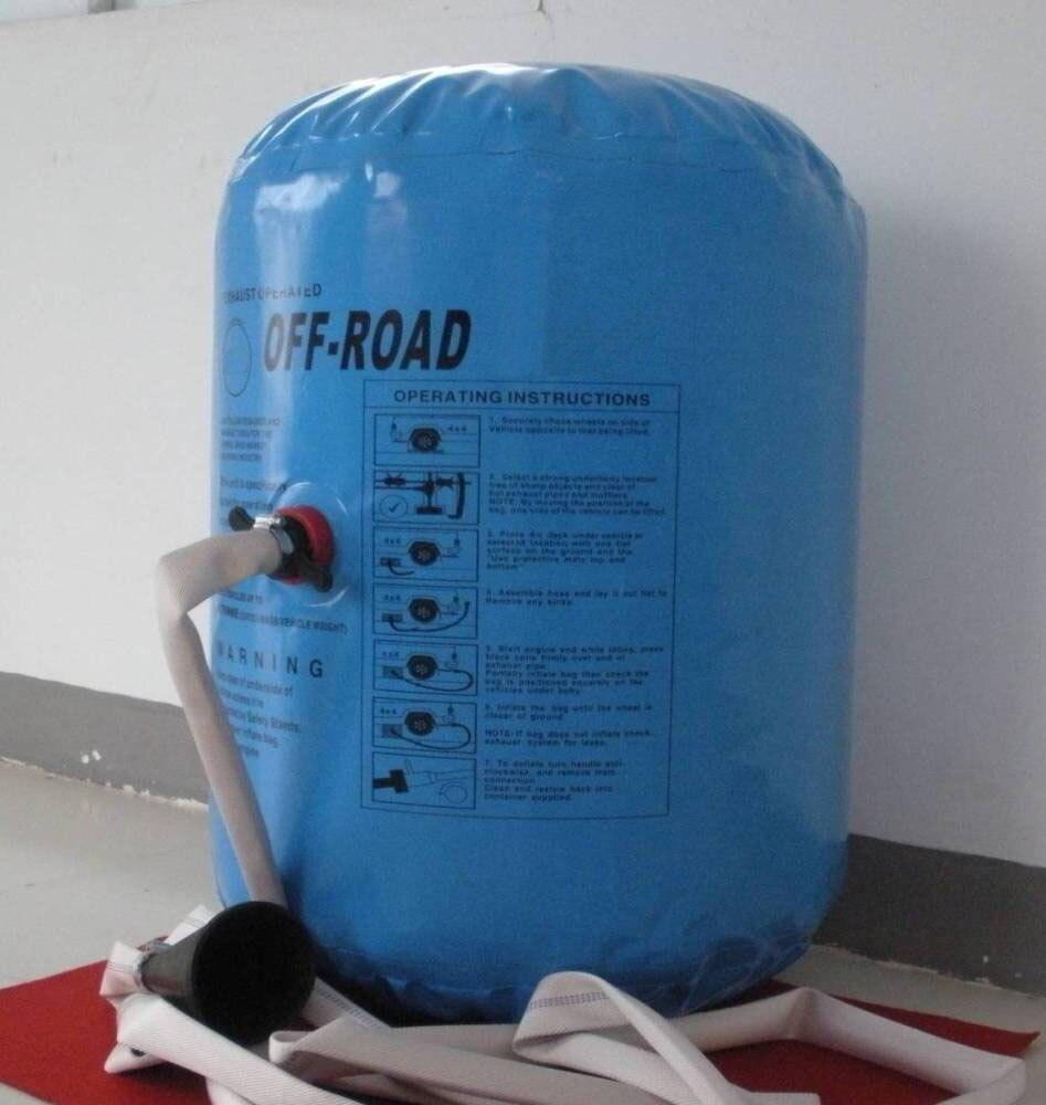 Nouveauté 3 tonnes 4 tonnes vérin d'échappement et vérin gonflable et pompe double usage Jack - 3