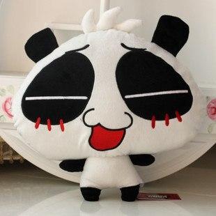 Игрушек! Супер милые плюшевые игрушки nonopanda expression мягкая набивная кукла подушка-панда удерживающая Подушка День рождения Рождественский подарок 1 p