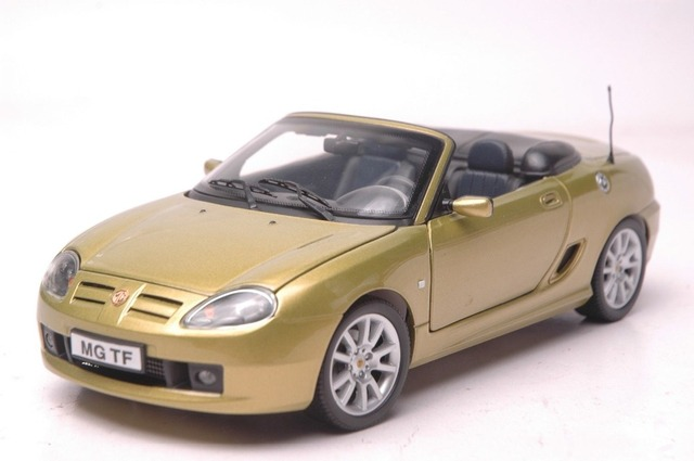 1 18 Cast Model For Saic Motor Mg Tf Roadster Alloy Toy Car Collection