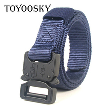 Military Tactical Men Thin Nylon Belt Male Army Belt Men Waist Canvas Belts  High Quality Strap TOYOOSKY все цены