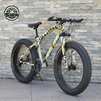 Love Freedom 2017 Latest Camo Cheetah Bike 21 Speed 26x4 0 Fat Bike Mountain Bike Snow
