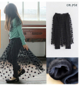 Free Shipping! Girls Baby Toddler Long Tulle Skirt Kids Children Clothes Black Girl fashion beautiful culottes
