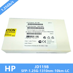 Image 2 - 100% Nova JD119B Gigabit SFP Módulo Transceptor DDM 1000Base LX, SMF, 1310nm 10 km Precisa de mais fotos, entre em contato comigo