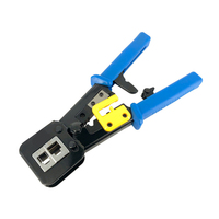 Multi Function Pliers Tools Cable Clamp Cutter RJ12 RJ45 6P 8P Piercing Crystal Head Crimping Dual Purpose Pliers Clamp Network