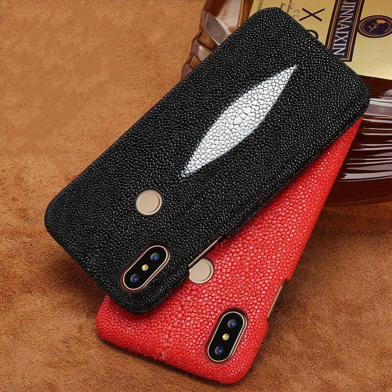 Étui de téléphone pour xiaomi mi 9 8 6 5 S Plus Max 3 mi x 2 2 S F1 A1 A2 Lite Thai Pearl Fish Stingray précieux pour Red mi Note 5 Pro Cover