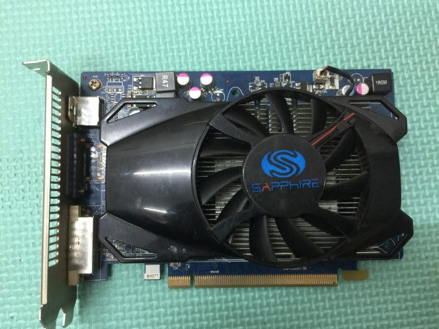 Original Desktop Graphics Card Radeon HD 6670 1GB GDDR5 128bit DirectX 11 VGA DVI HDMI 480SP original new desktop computer game graphics card for colorful gtx750 twin 1gd5 1024m ddr5 128bit dx11 vga dvi hdmi free shipping